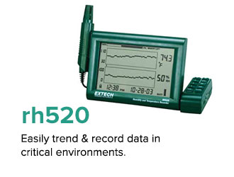 Easily trend & record data in critical environments.