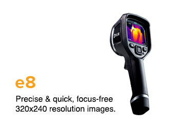 Precise & quick, focus-free 320x240 resolution images.