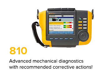 Advanced mechanical diagnostics with recommended corrective actions!