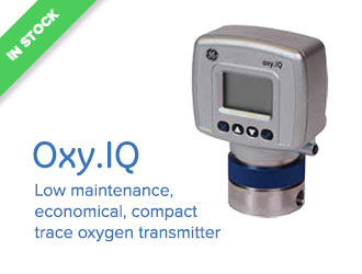 Oxy.IQ - Low maintenance, economical, compact trace oxygen transmitter.