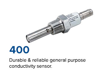 Durable & reliable general purpose conductivity sensor.
