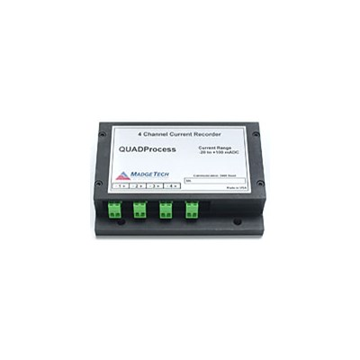 MadgeTech QuadProcess 4 Channel Current Data Logger
