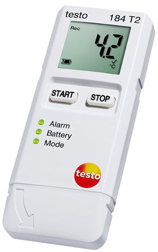 Testo 184 T2 Temperature Data Logger