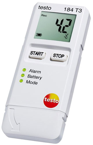 Testo 184 T3 Temperature Data Logger