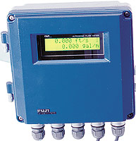 Fuji Electric Time Delta S Ultrasonic Flow Meter